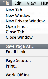 Save-Page-As