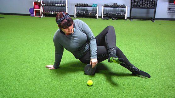 Post Workout Lower Body Foam Rolling Session