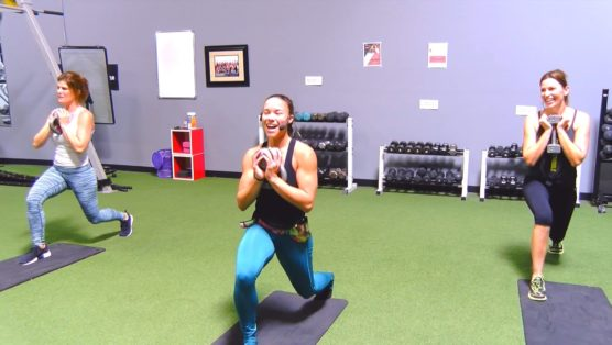 30 minute kettlebell booty body sculpting exercises with free weights