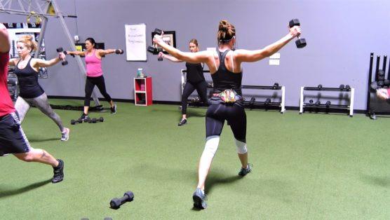 body sculpting workout female Carve it Up - Shoulders 4