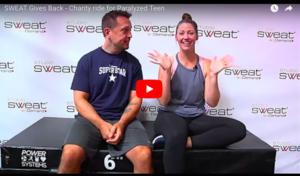sweat gives back