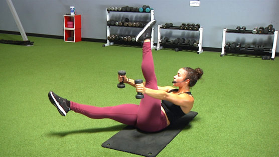 PLARMS - Pilates, Legs & Arms body sculpting exercises with free weights