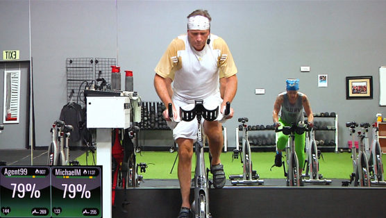 The Long Ride - A 90 Minute Cycle (60 min option) at home spin workout