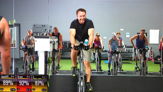 30 minute online Spinning class - Half Hour of Power
