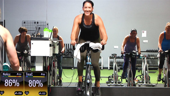 Latino and Hip-Hop Spinning class The Vibe Ride
