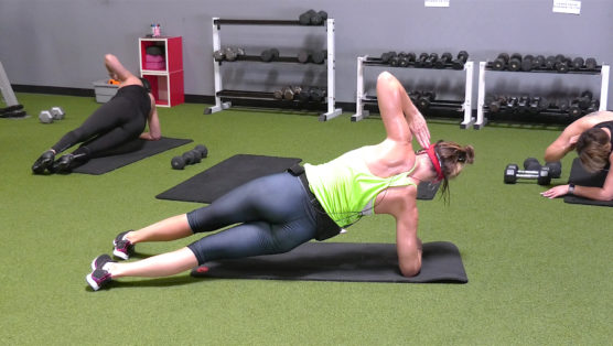 short online ab & stretch session 6-Min Abs + 6-Min Stretch