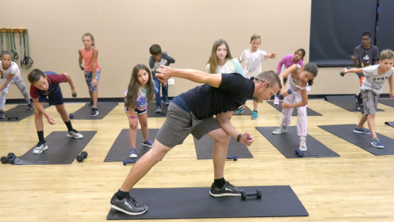 20-minute online strength training workout for kids Kid Strong
