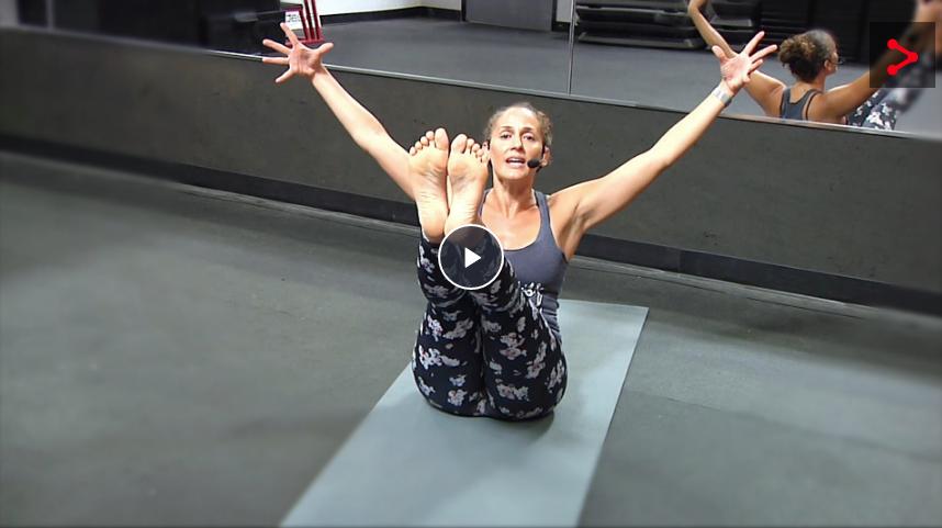 40 minute positive power yoga