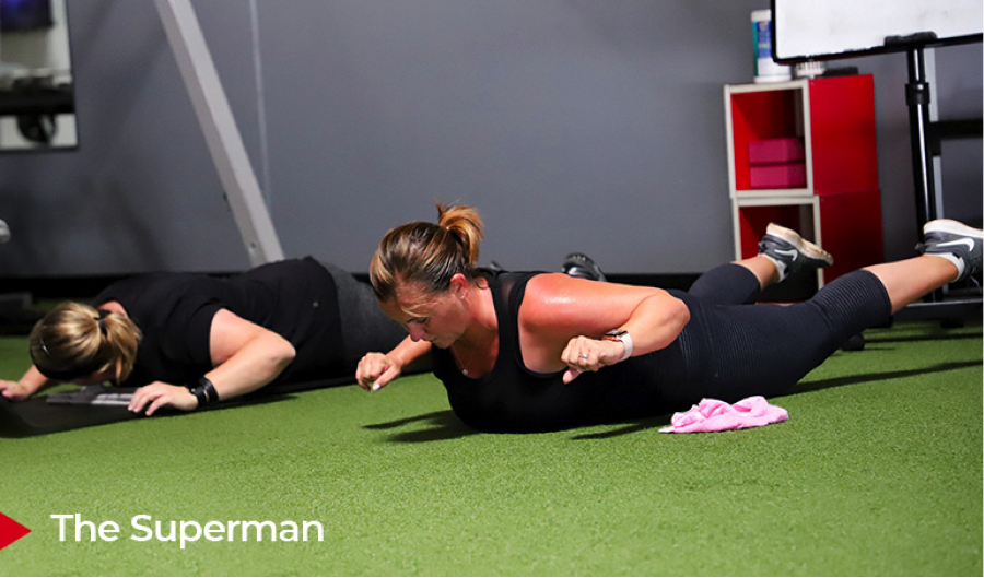 the superman exercise