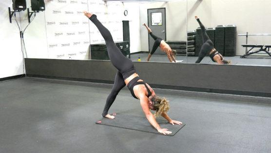 40 Minute Pilates-Yoga Fusion routine