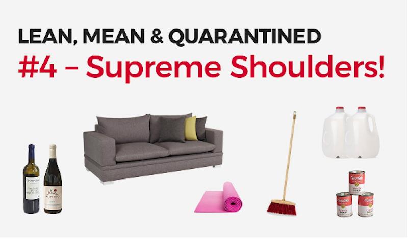 Lean, Mean & Quarantined #4 Supreme Shoulders! image