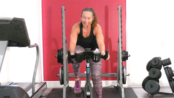 high-intensity cycling class Double Dare Spin®