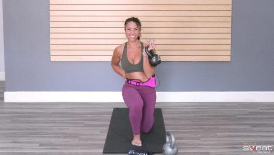 best Kettlebell Leg Workout online ALL LEGS Kettlebell (or Dumbbell)