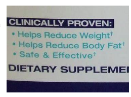 supplement label claims