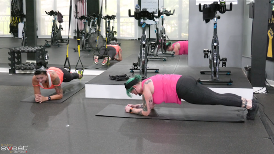 Virtual Cycle & Sculpt Workout Beastly Besties Cycle & Sculpt