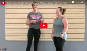 Shorter Workouts More Often, or Longer Workouts Less Frequently