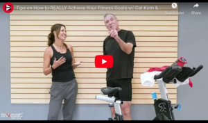 Tips on How to REALLY Achieve Your Fitness Goals trainer tip video