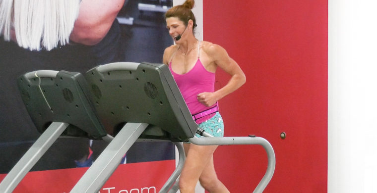high-intensity treadmill interval workout